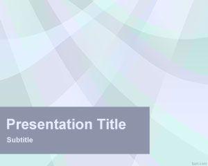 Plantilla PowerPoint con Rayos Celestes | Plantillas PowerPoint Gratis