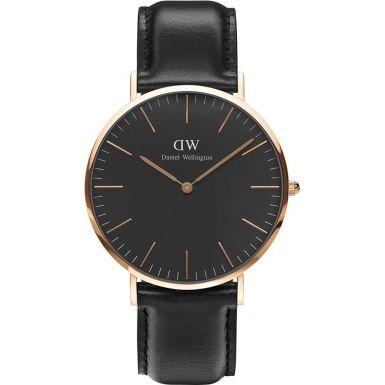 Daniel Wellington DW00100127 Classic Black Sheffield 40mm Watch