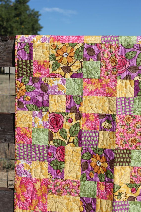 Santorini Baby Girl Quilt. Incredible selection of colors. I love this quilt