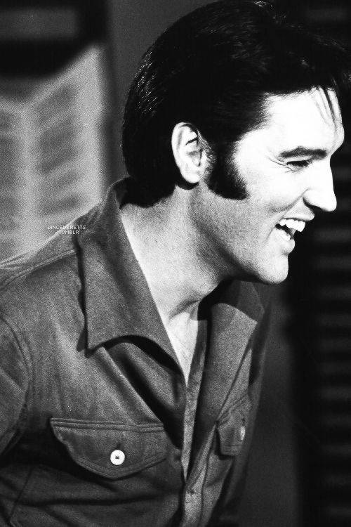Elvis during the production of the '68 Comeback Special, 1968.