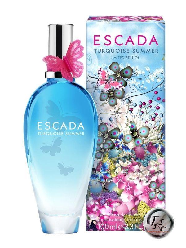 Escada Turquoise Summer (2014-2015) {New Perfume} http://www.mimifroufrou.com/scentedsalamander/2014/12/escada_turquoise_summer_2015.html
