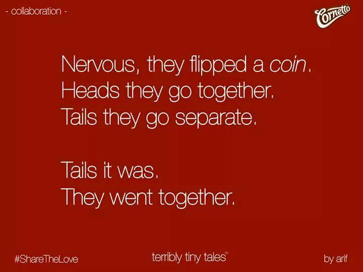 Terribly tiny tales!!
