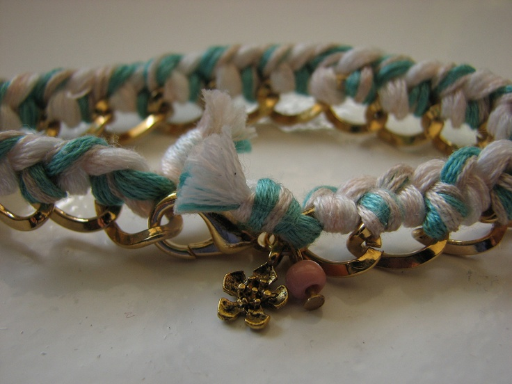 Woven chain bracelet by Quiero!