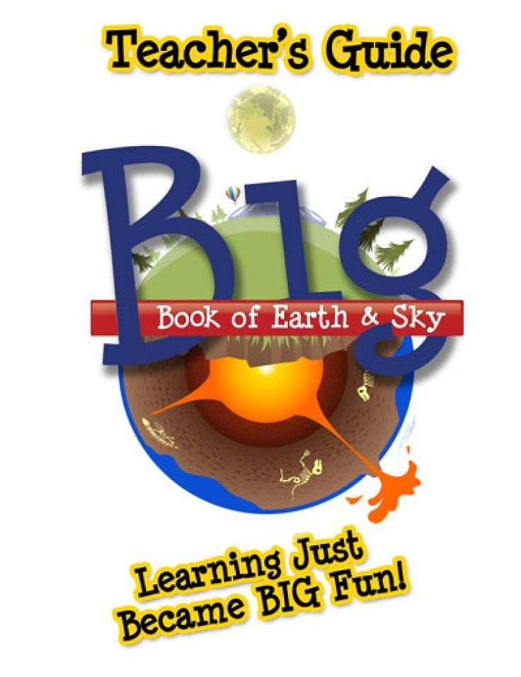 Homeschool, Earth Science. Big Book of Earth & Sky (Teacher's Guide). Sample activities & terms to know are included to provide additional ideas on ways you can use the Big Book of Earth & Sky.  It includes information on caves, weather, and oceans & some extras on archaeology, which explores how people have lived and thrived on God's Earth since the Garden of Eden. There are word matching quizzes in the back, fill-in-the-blank images & search-and-find quiz that covers the Big Book…