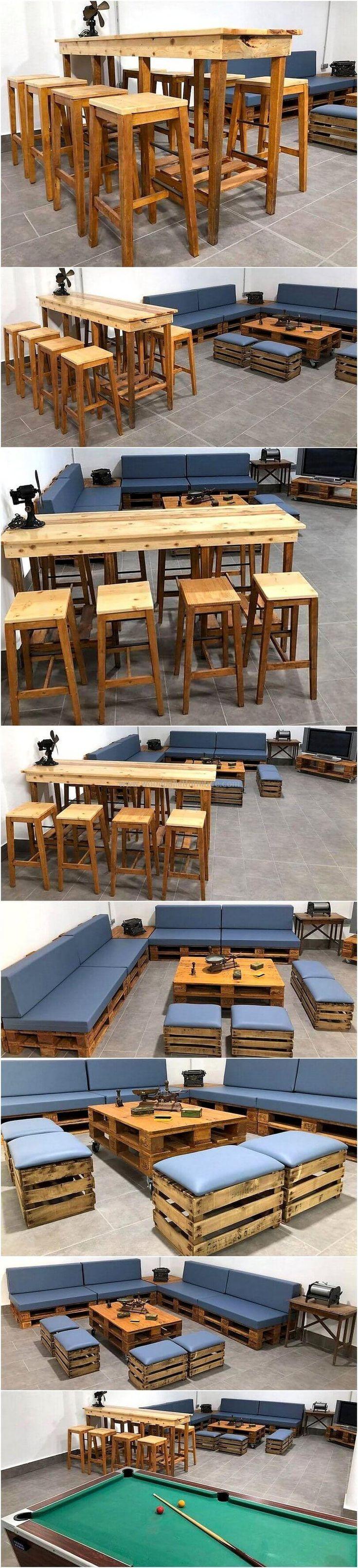 7738 best Pallet Furniture images on Pinterest