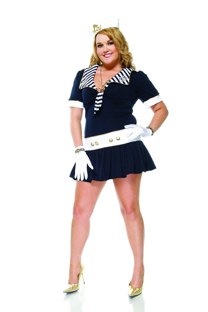 Naughty Nautical Sexy Adult Costume
