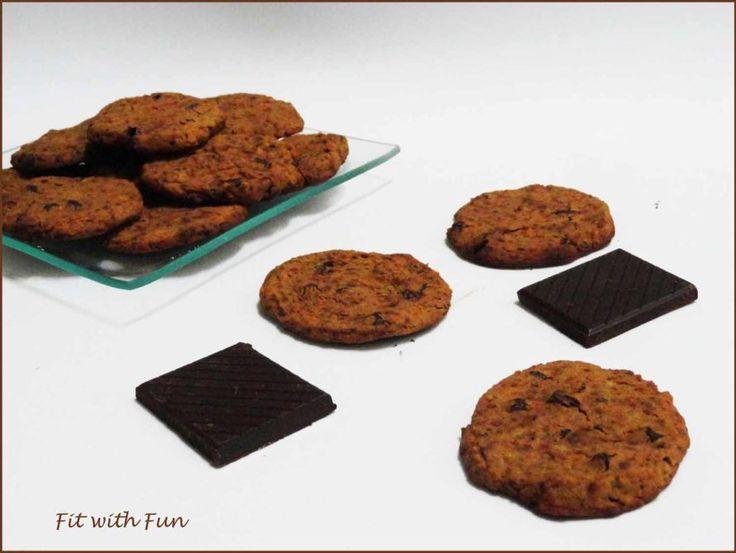 Biscotti Cookies ai Ceci e Cioccolato Vegani e Senza Glutine