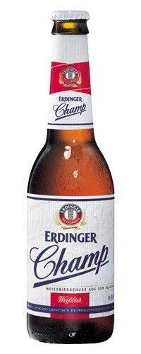 Cerveja Erdinger Champ - Cervejaria Erdinger Weissbräu