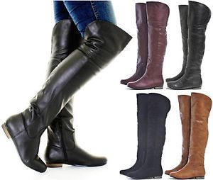 25  best ideas about Women's flat knee boots on Pinterest | Senior ...