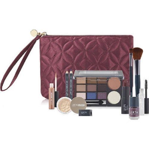 Ulta Beauty 12 piece Make up Gift Set Kit Face Eye Lip Palette with Cosmetic Bag #Ulta