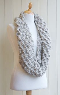Knitting pattern: Kilmorey Snood | Life and style | guardian.co.uk