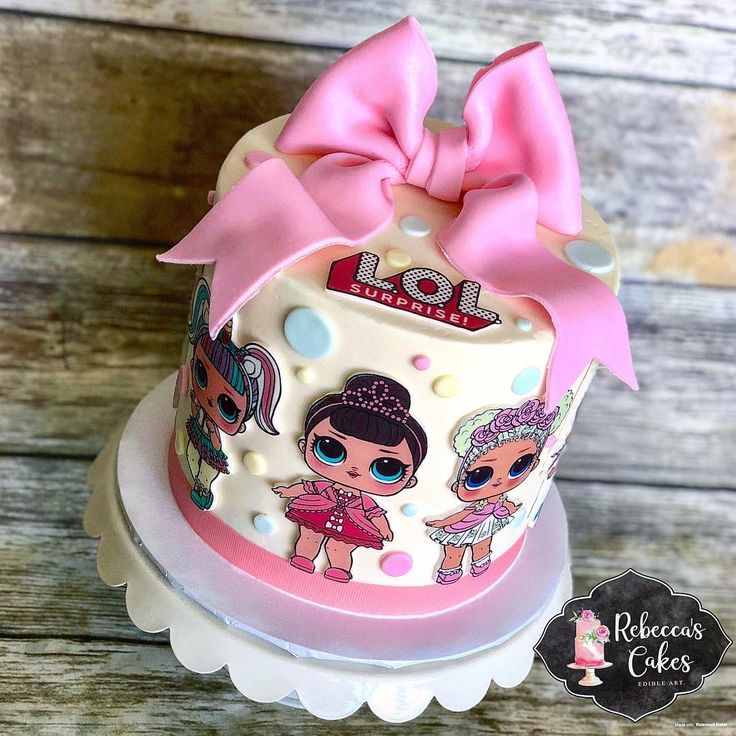 @rebeccas_cakes – Rebecca Knapp – LOL Surprise Dolls cake #loldolls #lolsurprise…  – LOL Surprise