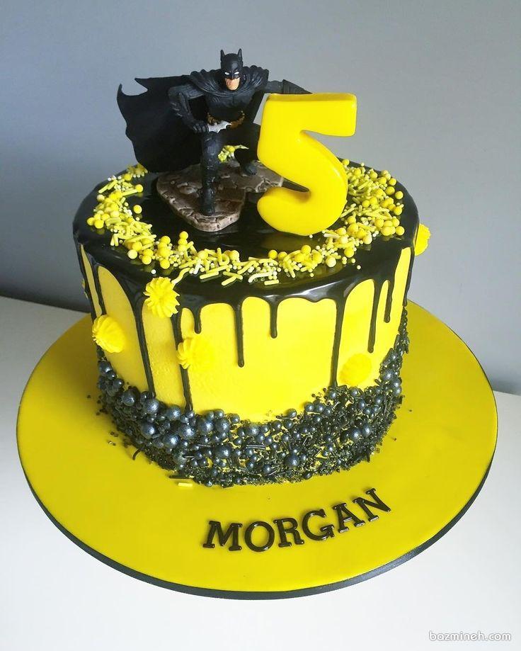 کیک تولد پسرانه با تم بتمن | Rabbit | Birthday cake, Cake ...