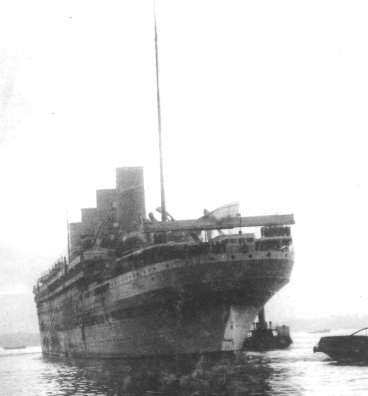 HMHS Britannic (1914) HMHS Britannic at Mudros, Lemnos Island, Greece.
