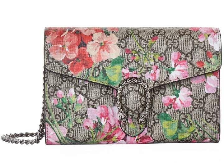 Dionysus Gg Blooms Cross Body Bag Pink Style Interior Wallet