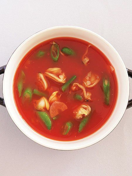 【ELLE a table】あさりのトマトスープレシピ|エル・オンライン