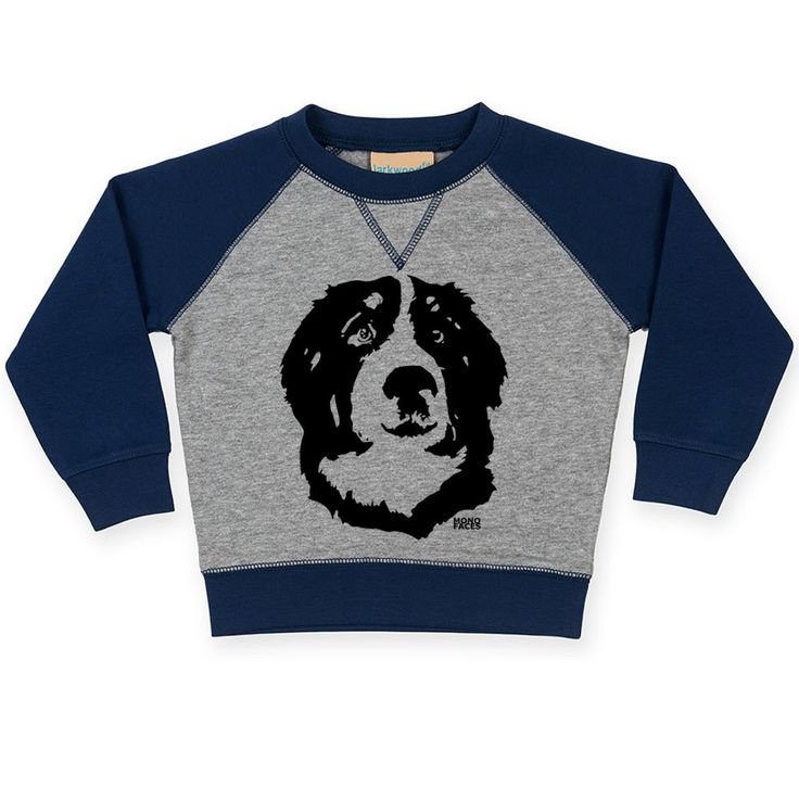 Bernese Mountain Dog Baby Jumper, Personalised Baby Sweatshirt, Bernese Toddler Sweater, Customised Baby Shower Gift, Toddler Birthday Gift by MONOFACESoCHILDREN on Etsy