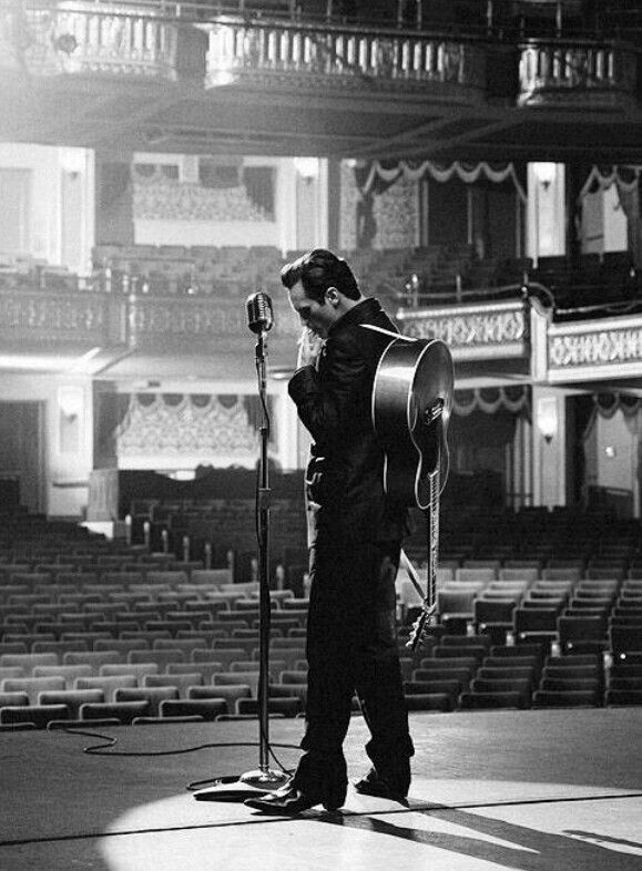 Great portrayal of Johnny Cash