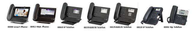 Alcatel-Lucent IP Telefonları: IP Telefonlar
