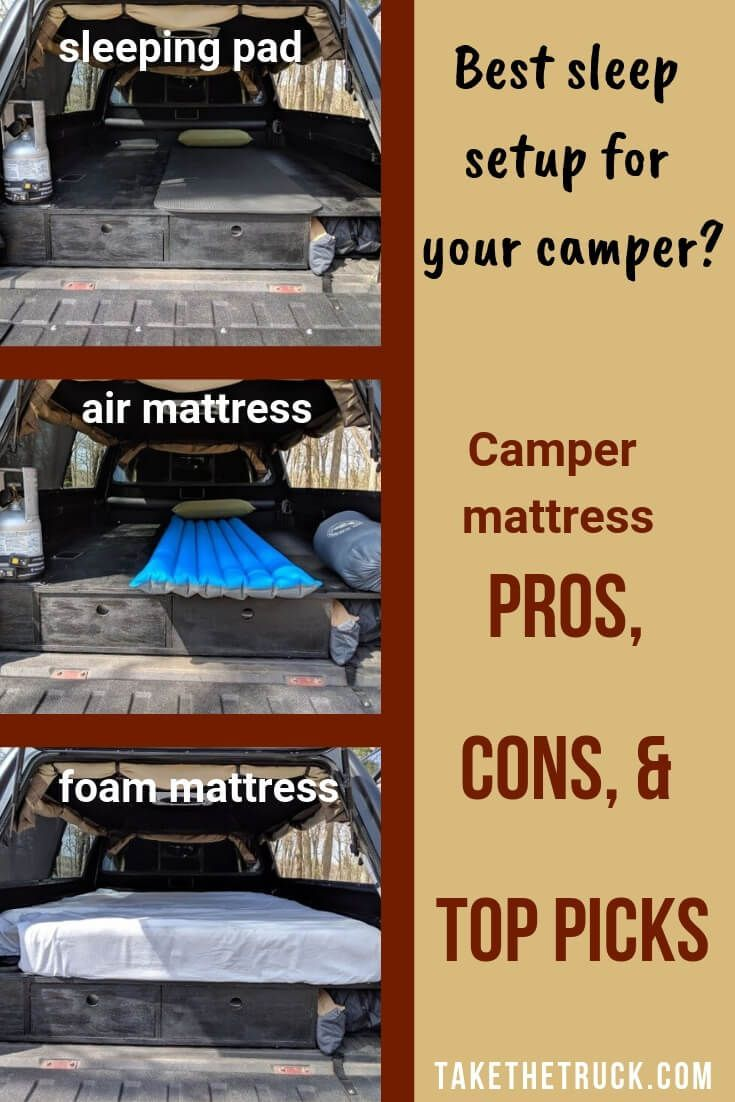 Truck Bed Pad >> How To Decide Which Truck Bed Mattress Is Right For You