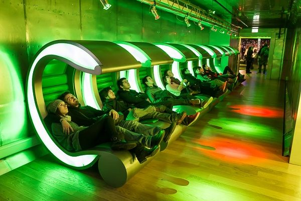 Heineken Experience, Amsterdam, Netherlands. Not high on the list, but could be fun!
