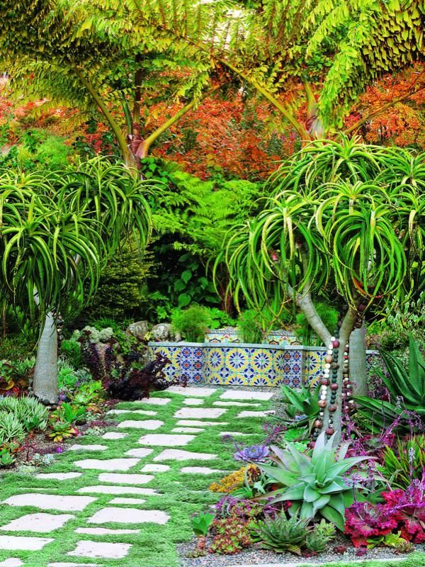 ideas about Mediterranean Garden Design on Pinterest