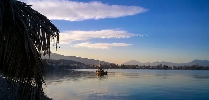 Boat. Selianitika village, Peloponnese, Greece.