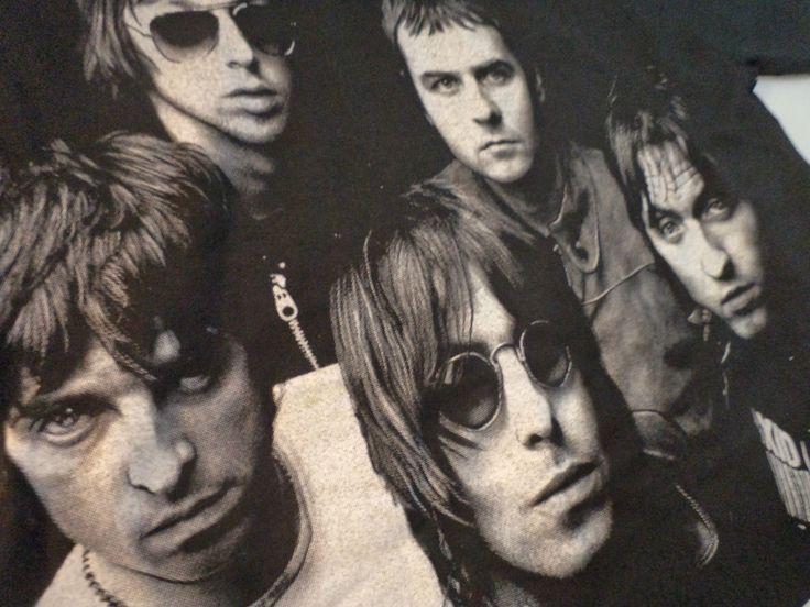 Vintage OASIS Unused T SHIRT small rock brit pop uk beatles blur radiohead lp | eBay