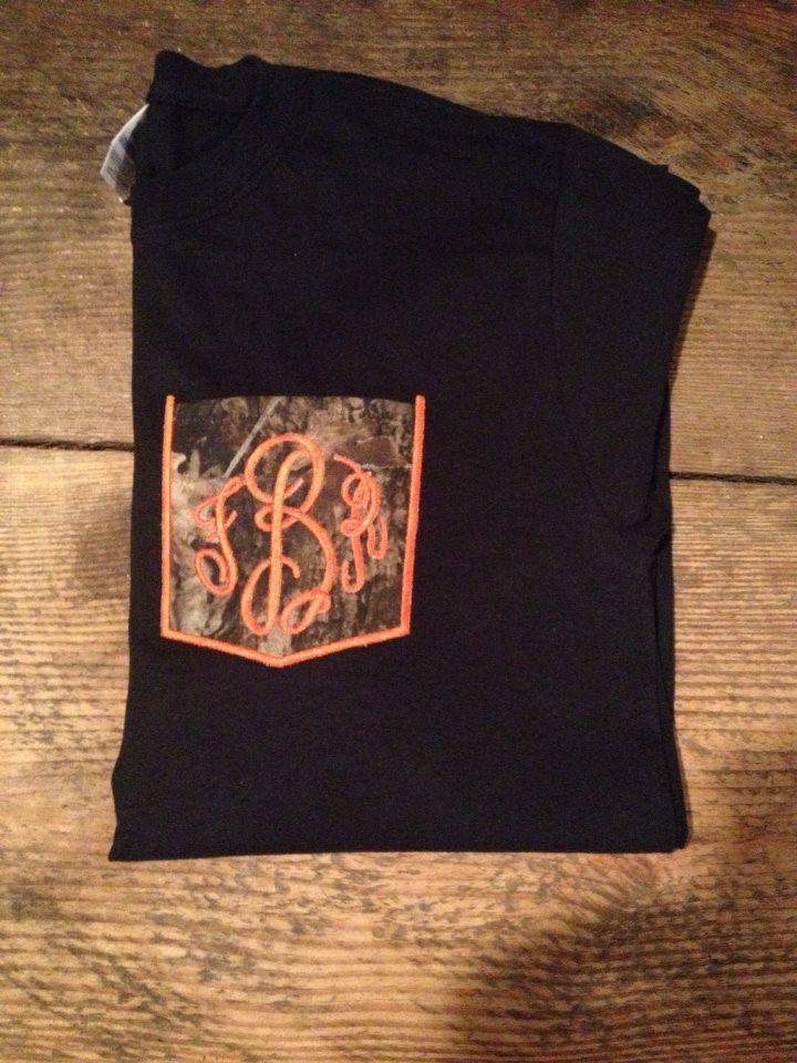 Monogrammed+Camouflage+Pocket+Longsleeve+Shirt+by+Brittunias,+$22.00