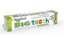 Аквафреш паста зубная детская Мои большие зубки от 6 лет 50мл  — 73р.  Зубная паста Aquafresh Мои большие зубки (6+ лет),  Содержит фтор для укрепления эмали молочных и постоянных зубов (1450 ppm).  Разработано специально для правильного ухода за полостью рта ребенка в  период, когда происходит смена молочных зубов на постоянные.  Зубная паста Aquafresh® Мои большие зубки(Aquafresh® My big teeth)  разработана специально для детей в возрасте старше шести лет. Паста  помогает укрепить зубную…