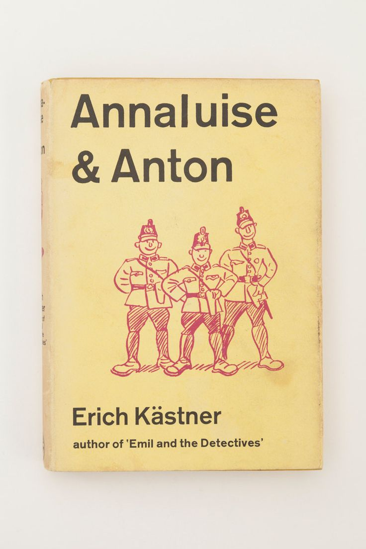 Annaluise & Anton by Erich Kästner - Vintage Children's Book, 1968 by PenelopeCatVintage on Etsy