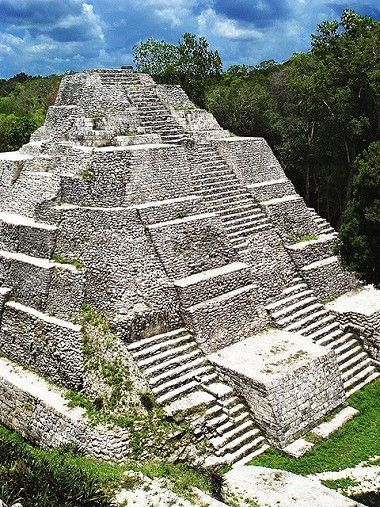 Yaxhá, Guatemala, is a Mesoamerican archaeological site in the northeast of the Petén Basin region, and a former ceremonial centre and city of the pre-Columbian Maya civilization. Yaxha was the third largest city in the region and experienced its maximum power during the Early Classic period (c. AD 250–600).