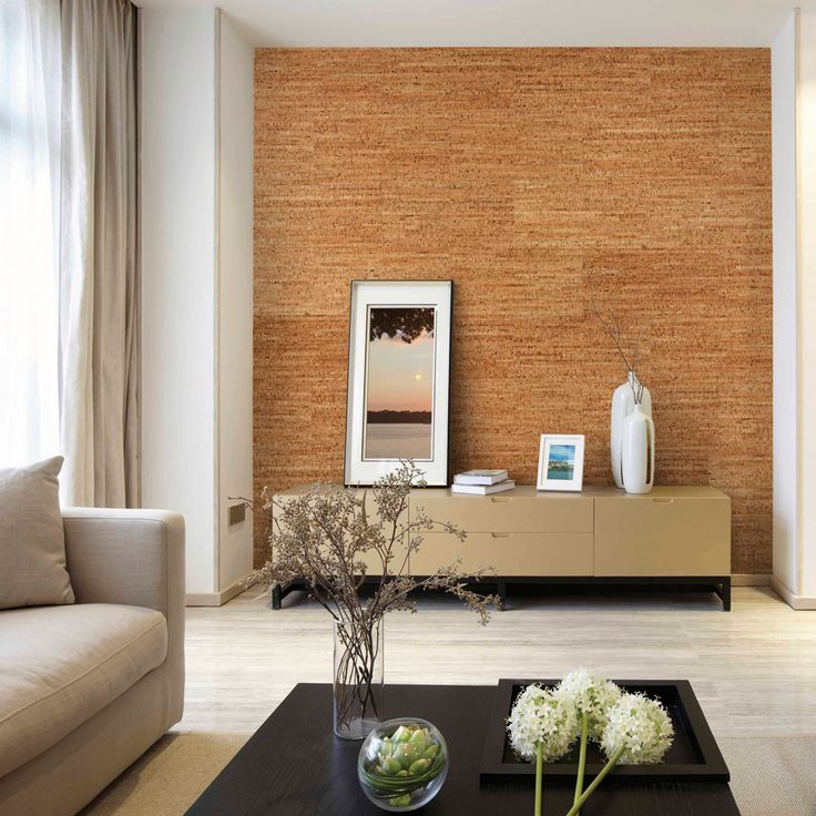 Photo On Brindled Natural Cork Wall Tiles