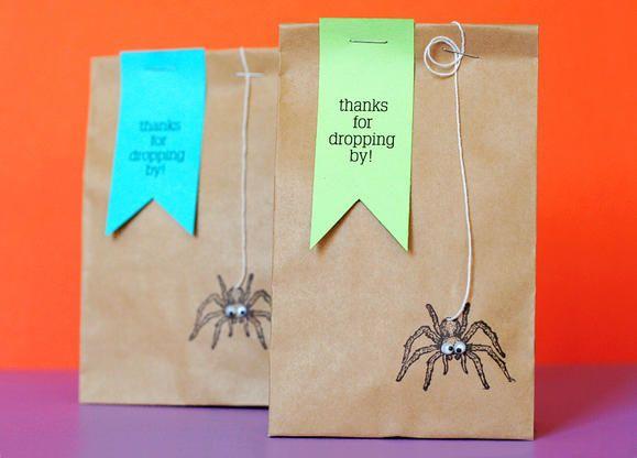 DIY Kids' Halloween Goodie Bags
