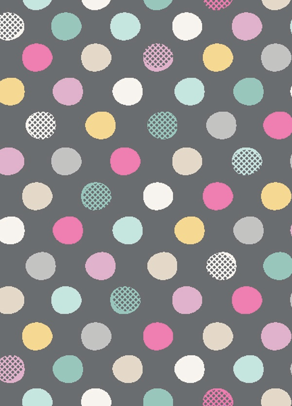 Dots in Gray, $9.25