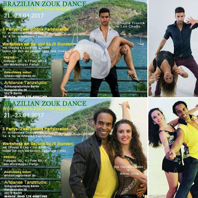 ARTDANCE TANZSTUDIO: BRAZILIAN ZOUK DANCE WEEKEND IN BERLIN