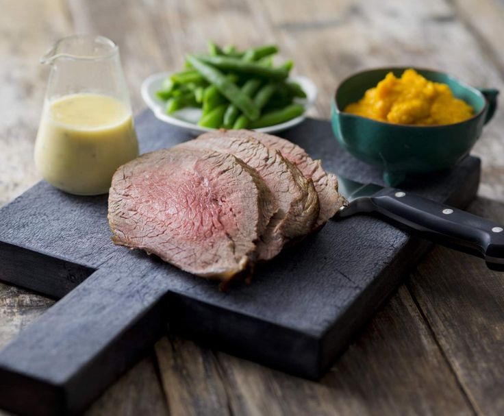Recipe Pocket roast beef with seeded mustard sauce by Thermomix in Australia - Recipe of category Main dishes - meat