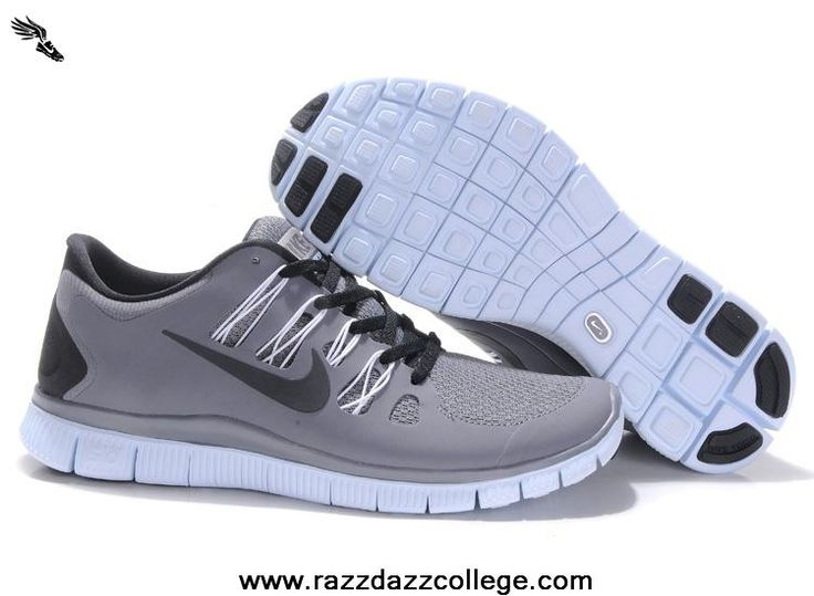 Nike Free 5.0 Mens Running Shoes Light Gray/Yellow 579959-730