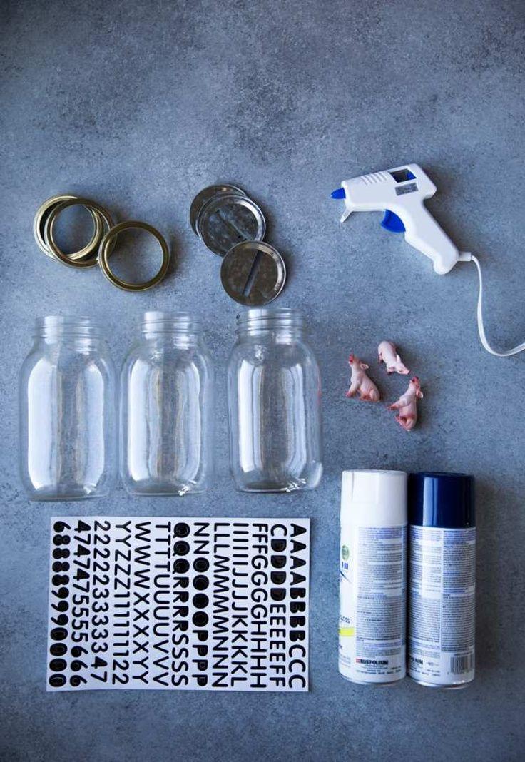 Spardose basteln - welche Materialien sind fürs Bastelprojekt benötigt