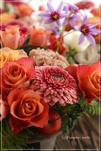 【今日の贈花】同窓会のお花たち♪