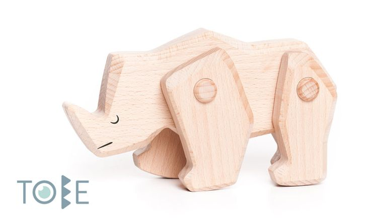 Rhinoceros - Strength of consequence and motivation Beech wood