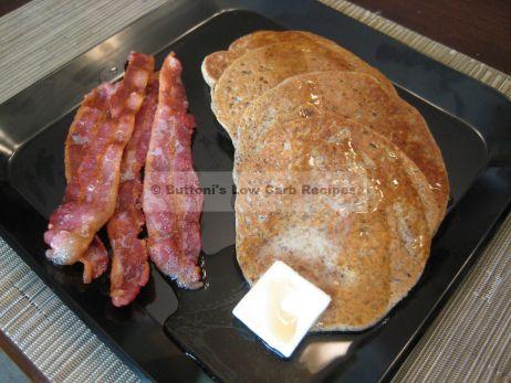 Flax-Whey Protein Pancakes