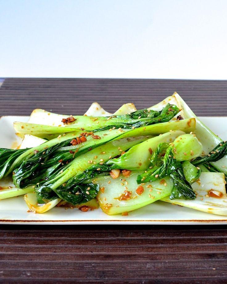 Ginger Bok Choy | Food Recipes