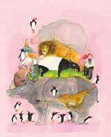 Springende pinguïns en lachende hyena's is een informatief, feestelijk dierenboek. Er staan een vijftigtal bijzondere en grappige weetjes in over het dierenrijk. Wist je dat als een kameel kwaad wordt, hij groen maagslijm over zich heen kotst? En dat een giraf zijn eigen oren kan schoonlikken? Of dat een haai altijd beweegt, zelfs als hij slaapt?