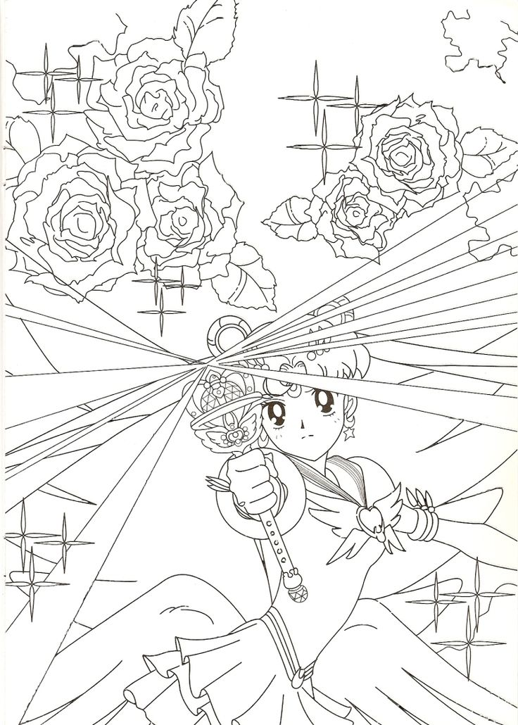 eternal sailor moon coloring page sailormoon