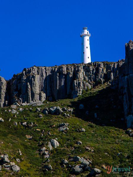 Tasman Island lighthouse, Tasmania, Australia