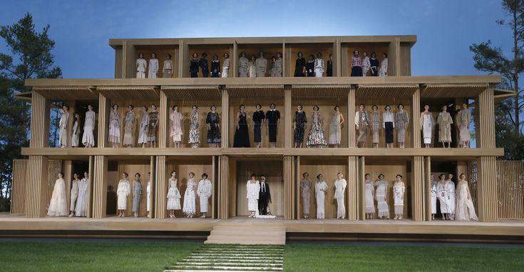 In beeld: ecologisch verantwoorde haute couture collectie van Chanel