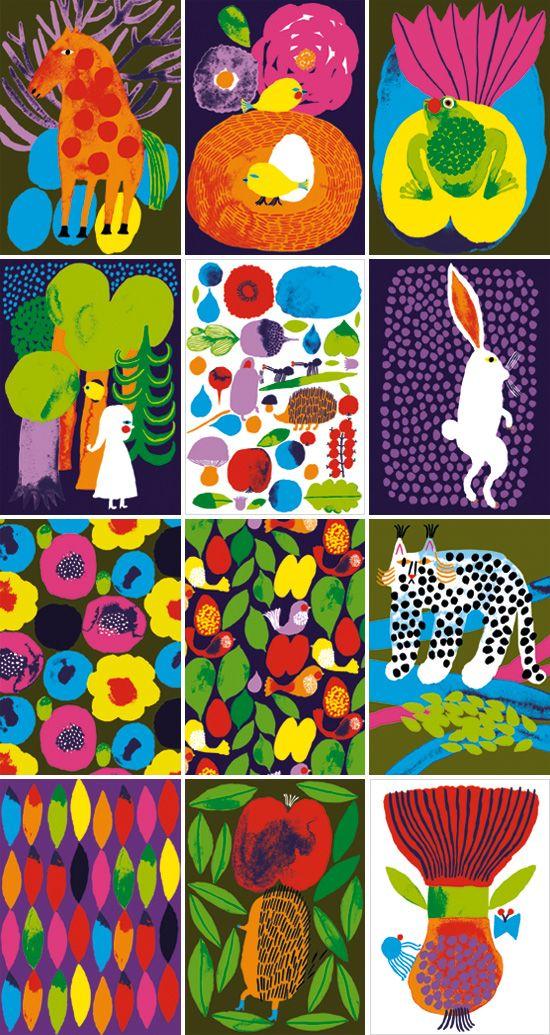 Aino-Maija Metsola illustrations