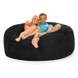 Relax Sack 6 ft Huge Memory Foam Bean Bag