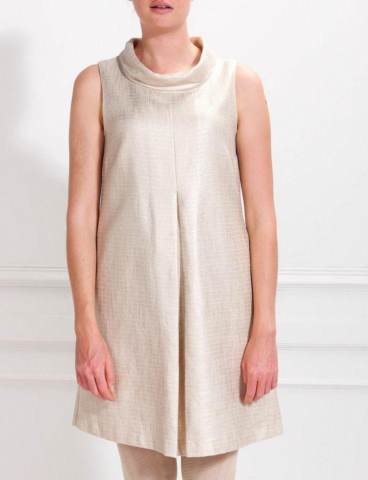 Fashionable metallic look dress - Dresses - Winter - Ladies - River Woods